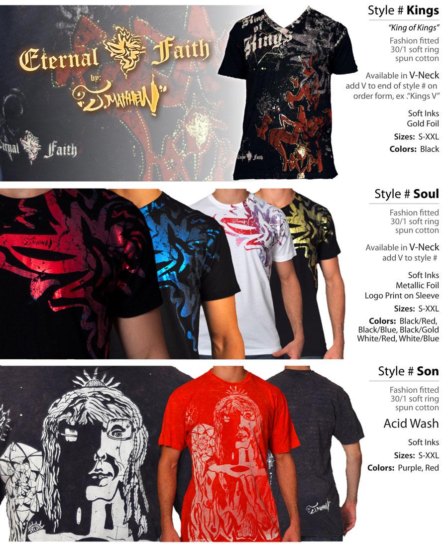 EternalFaith Line Sheets Mens Street Wear