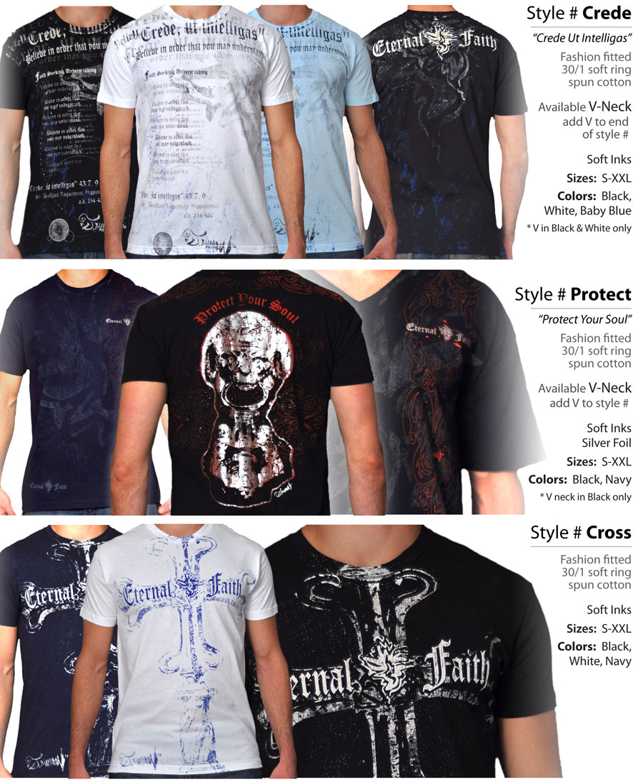 EternalFaith Line Sheets Mens Street Wear